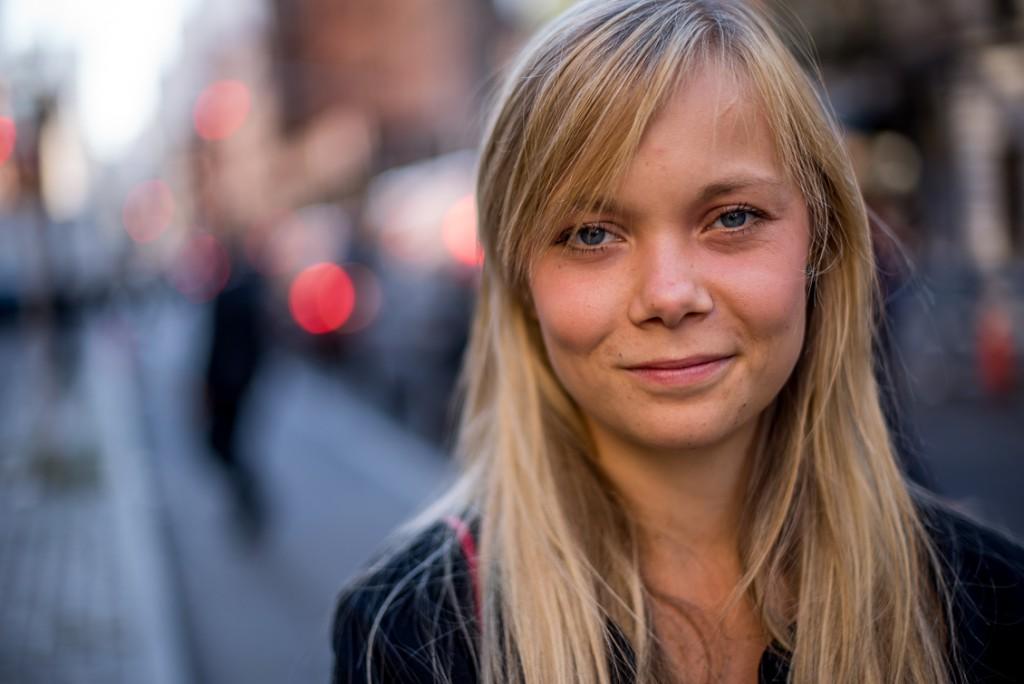 Emelie Svensson. Foto: Karin Oleander